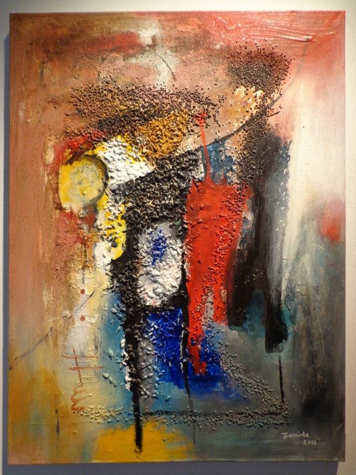 Baminla arts peintures abstraites for Peintures abstraites