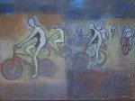 Des cyclistes nus à Bruxelles